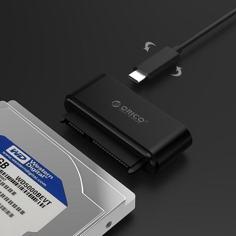 Adaptador Type C para HD / SSD SATA 2.5 - 20UTS-C3