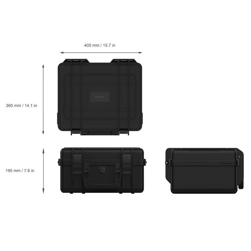 Capa / Case para 20 HDS 3.5 - Super Proteção - PSC-L20