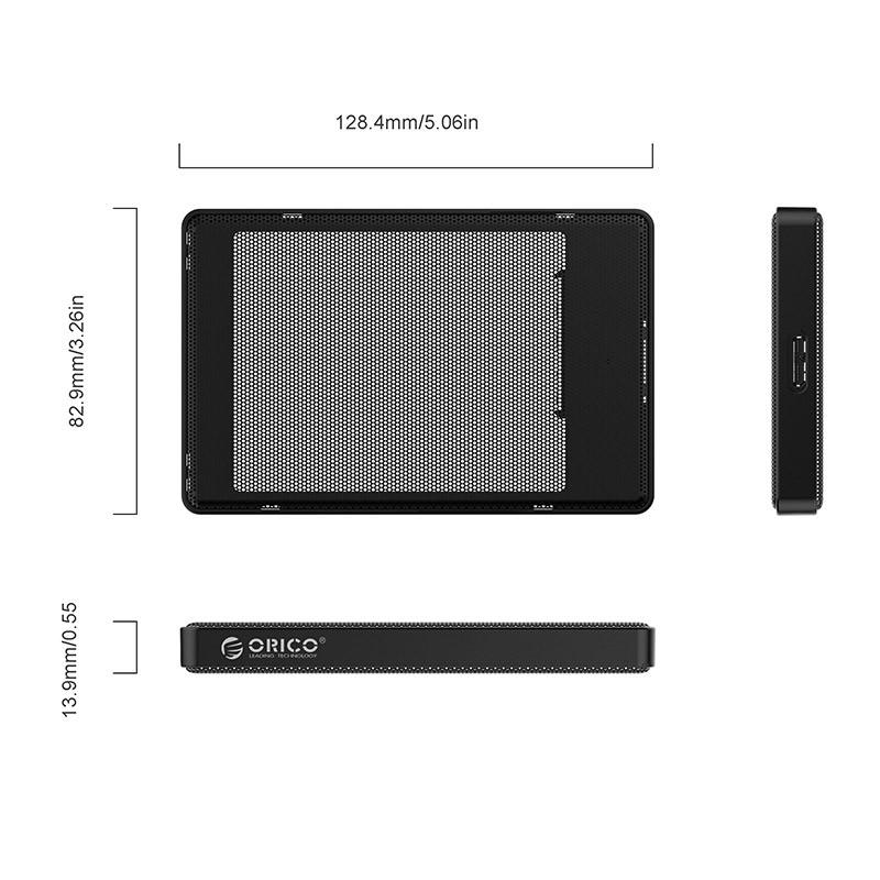 Case / Gaveta para HD SATA 2.5 USB 3.0 - 2169U3