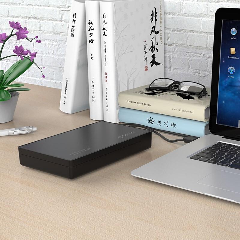 Case / Gaveta para HD/SSD SATA 3.5 USB 3.1 Type-C - 3588C3
