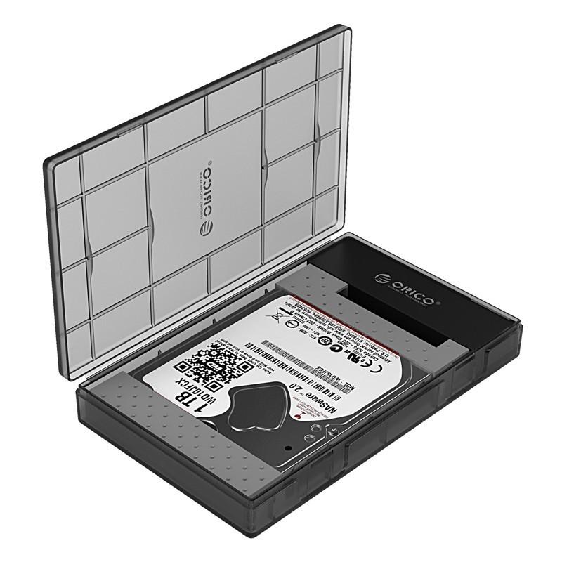 Case / Gaveta para HD/SSD SATA 2.5 USB 3.1 Type-C - AD29C3