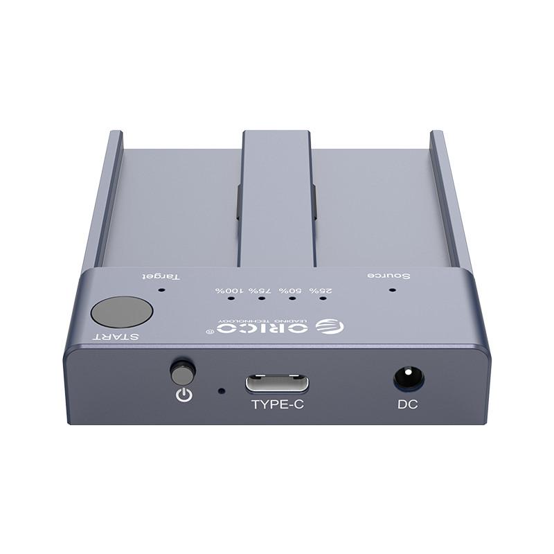 Dock Station NVMe M.2 SSD 2 Entradas - Clone Offline - M2P2-C3-C