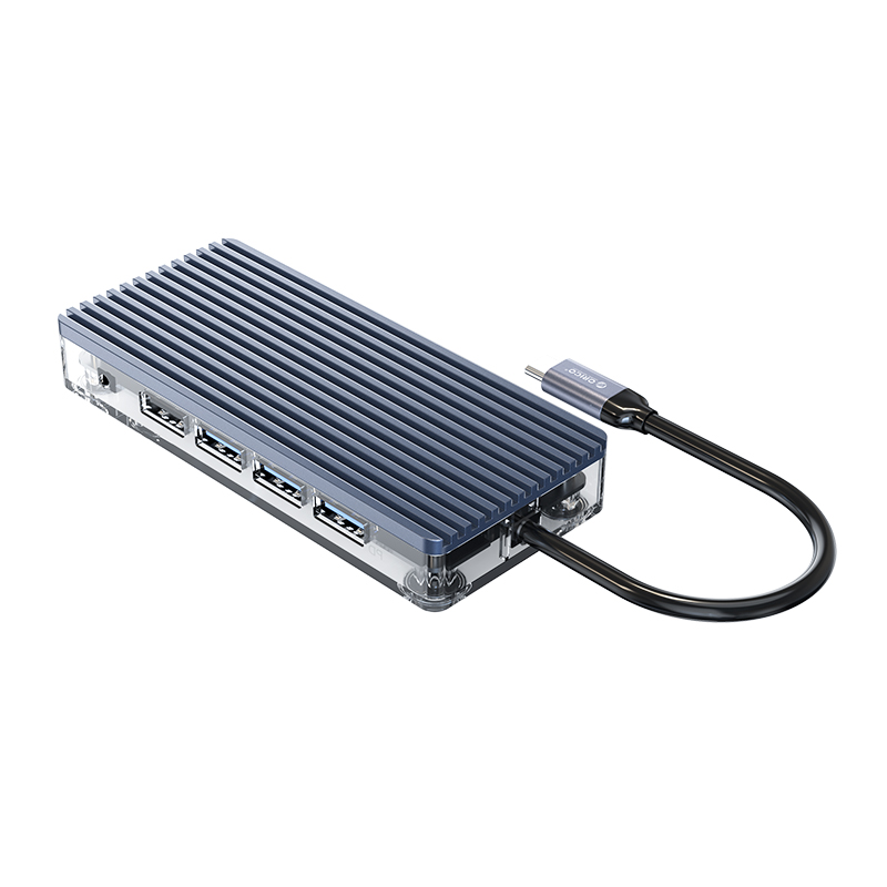 Dock Station Usb-C / Type-C - 11-in-1 - Multiportas - WB-11P
