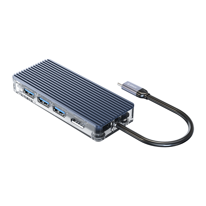 Dock Station Usb-C / Type-C - 8-in-1 - Multiportas - WB-8P