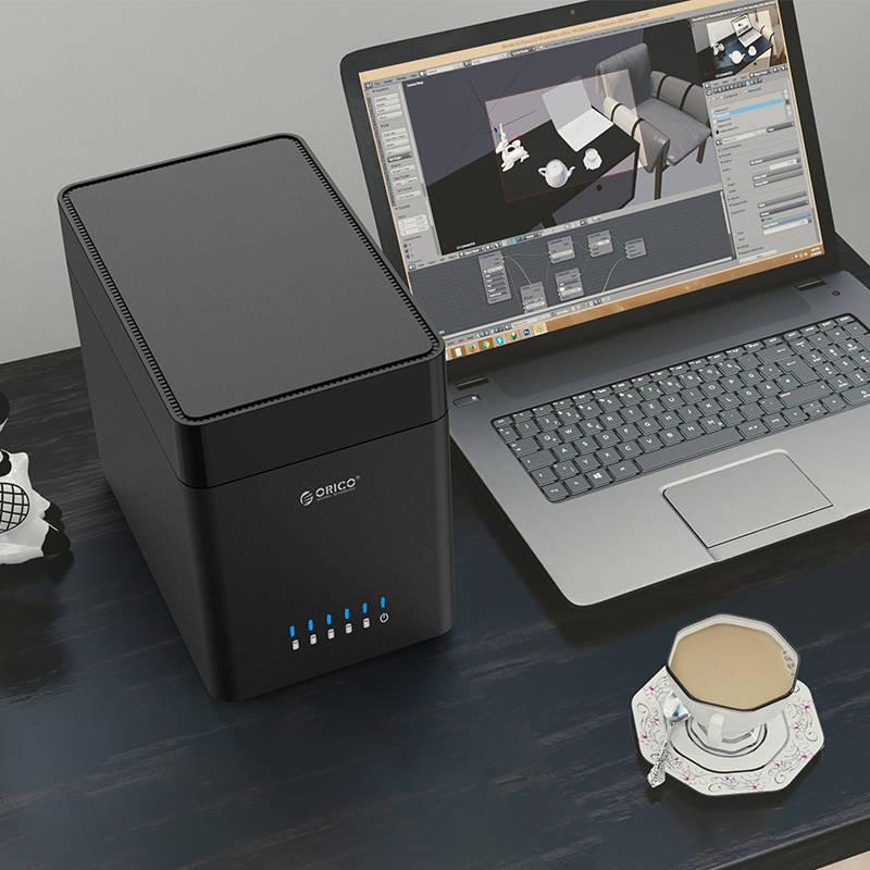 HD Storage 5 Baias Magnéticas - Type C - DS500C3