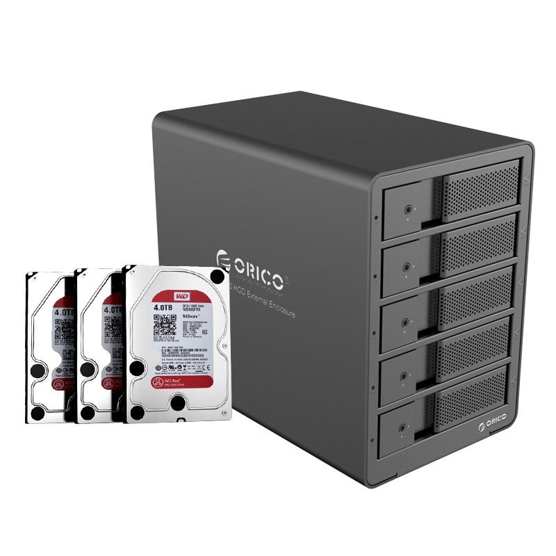 Hd Storage RAID - 5 Baias - Até 40tb - 9558RU3