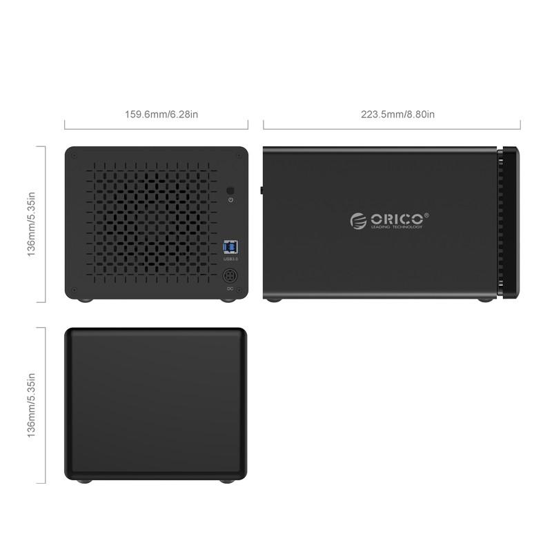 HD Storage RAID 5 Baias - USB 3.0 - NS500RU3