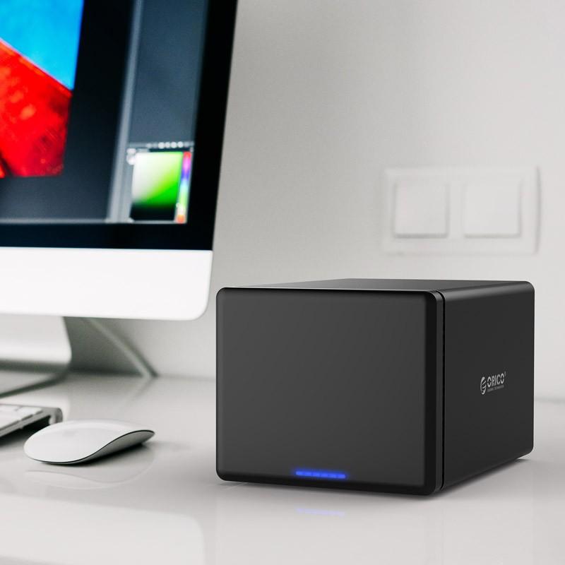 HD Storage RAID 5 Baias - USB 3.1 Type-C - NS500RC3