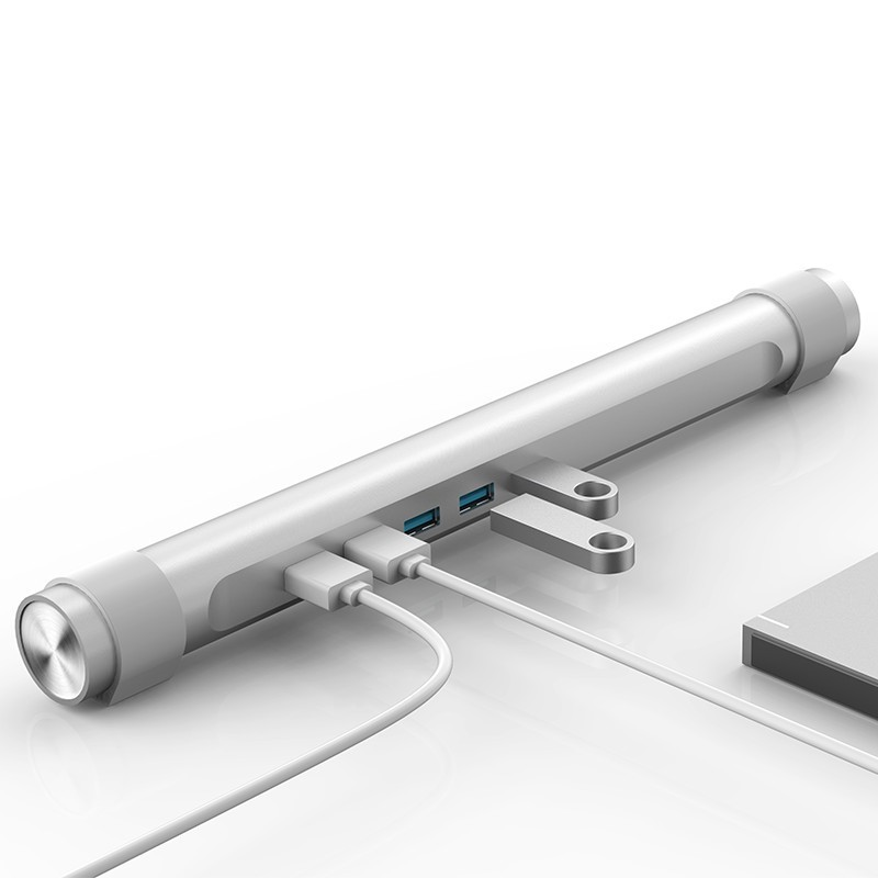 Hub USB 3.0 - 4 Portas com Suporte p/ Notebook - M4U3