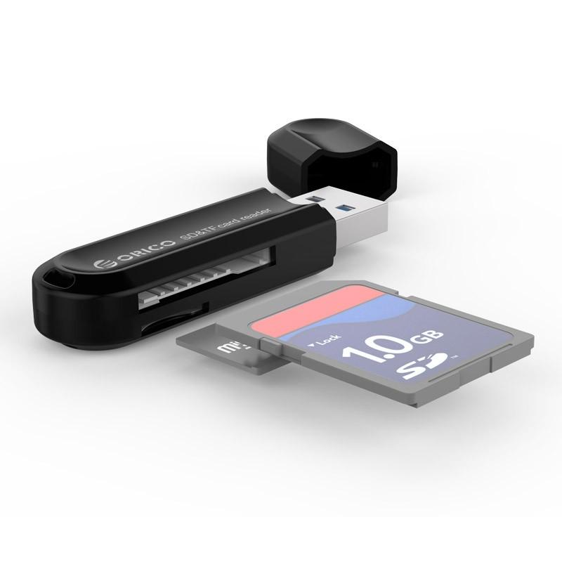 Leitor de Cartão de Memória SD/TF USB 3.0 - CRS21