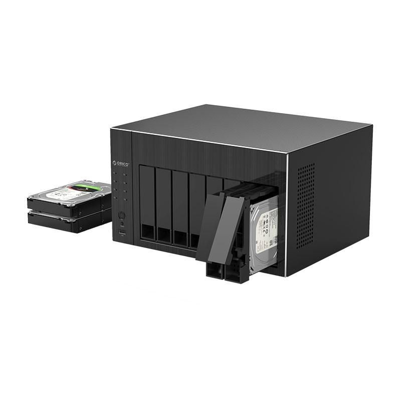 Servidor Storage NAS - 8 Baias com RAID - OS800