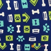 OXFORD ESTAMPADO/PETS AZUL