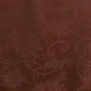 TECIDO JACQUARD COLONIAL / MARROM CHOCOL
