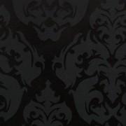 TECIDO JACQUARD REALEZA / ESTAMPADO PRETO