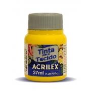 TINTA PARA TECIDO ACRILEX 3.UN AMARELO OURO
