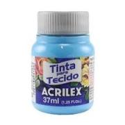 TINTA PARA TECIDO ACRILEX 3.UN AZUL CELESTE