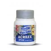 TINTA PARA TECIDO ACRILEX 3.UN BRANCO