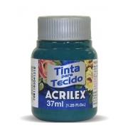TINTA PARA TECIDO ACRILEX 3.UN VERDE BANDEIRA