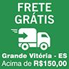 Frete grátis para compras acima de R$150,00 - Grande Vitória - ES