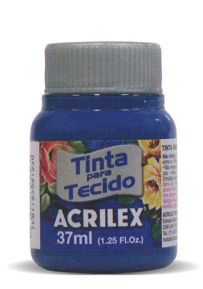TINTA PARA TECIDO ACRILEX 3.UN AZUL COBALTO