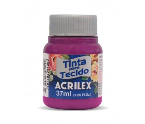TINTA PARA TECIDO ACRILEX 3.UN MAGENTA