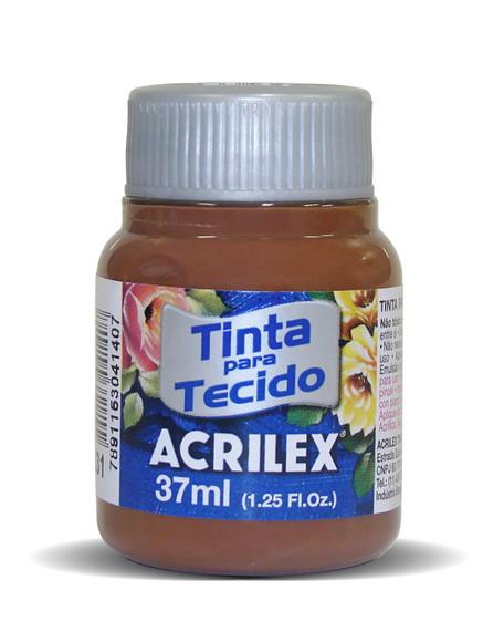 TINTA PARA TECIDO ACRILEX 3.UN MARROM
