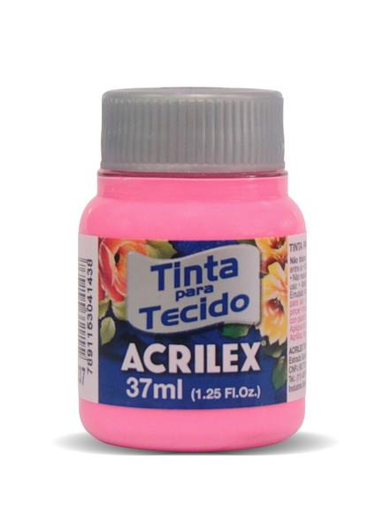 TINTA PARA TECIDO ACRILEX 3.UN ROSA