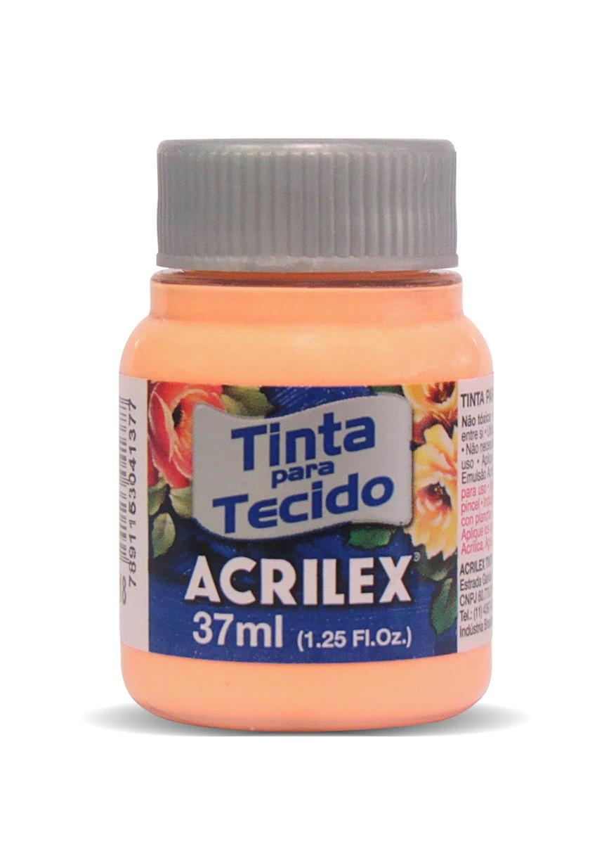 TINTA PARA TECIDO ACRILEX 3.UN SALMÃO