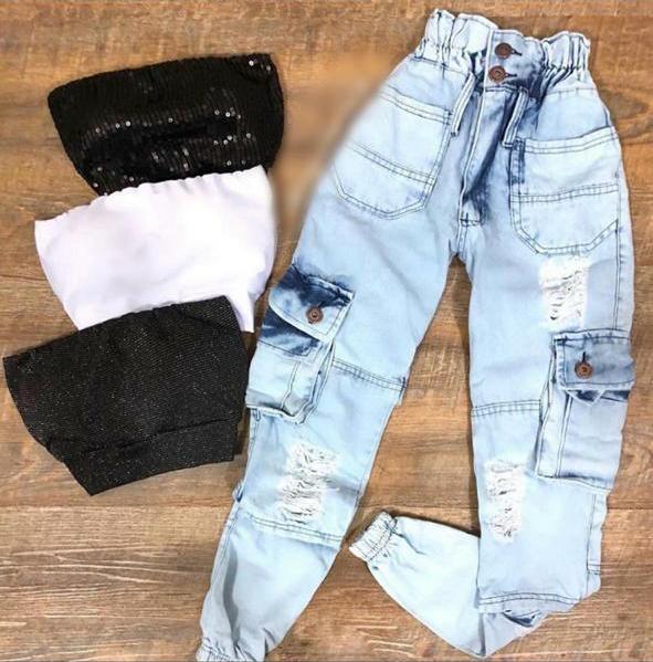 Calça jeans 2001