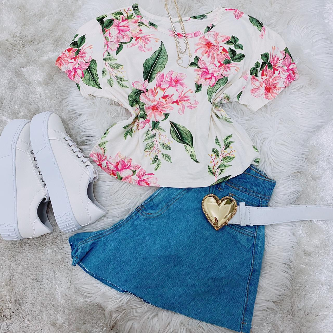 Cropped floral Juliana