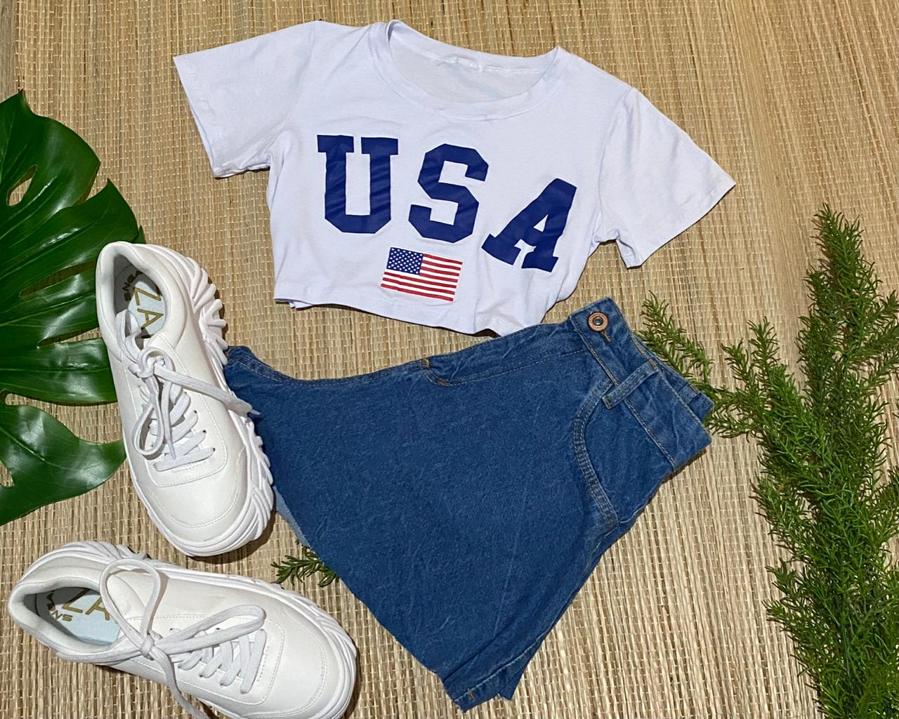 Cropped Style Usa