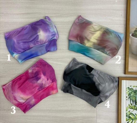 Cropped tie dye Leticia
