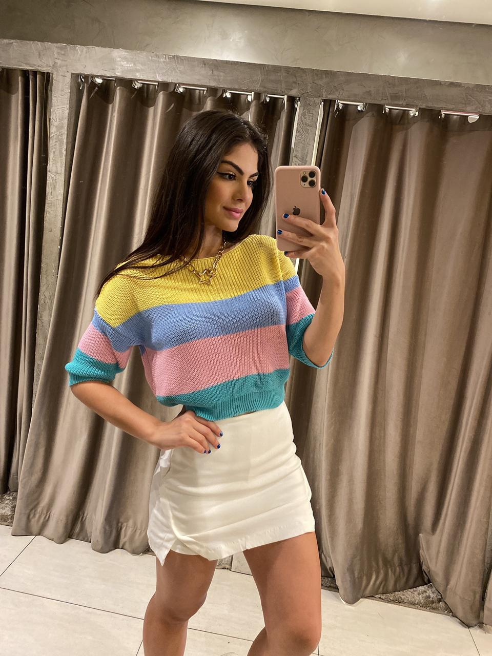 Cropped tricot Linda