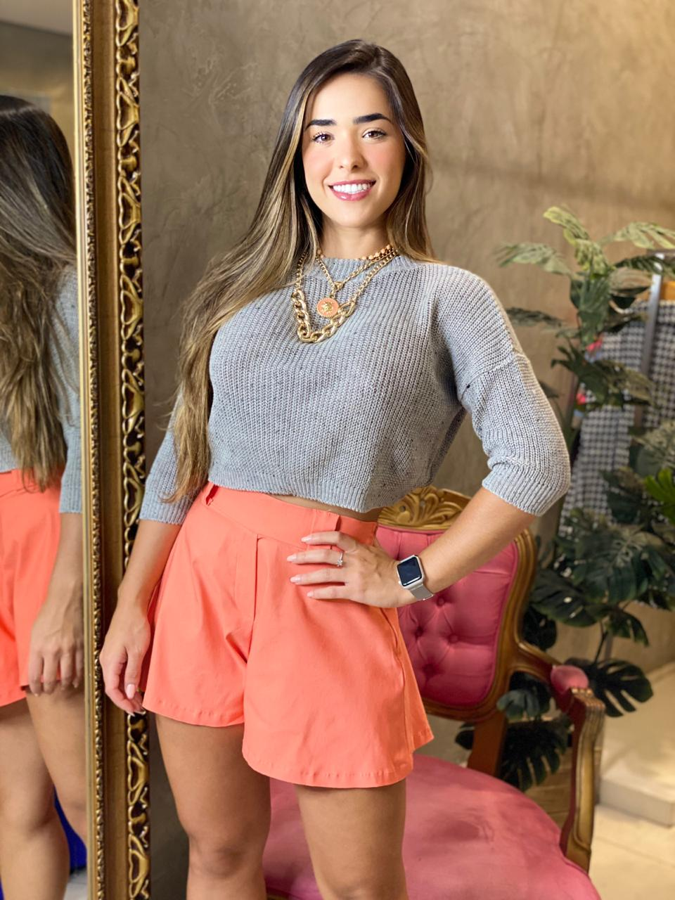 Cropped tricot Marcela