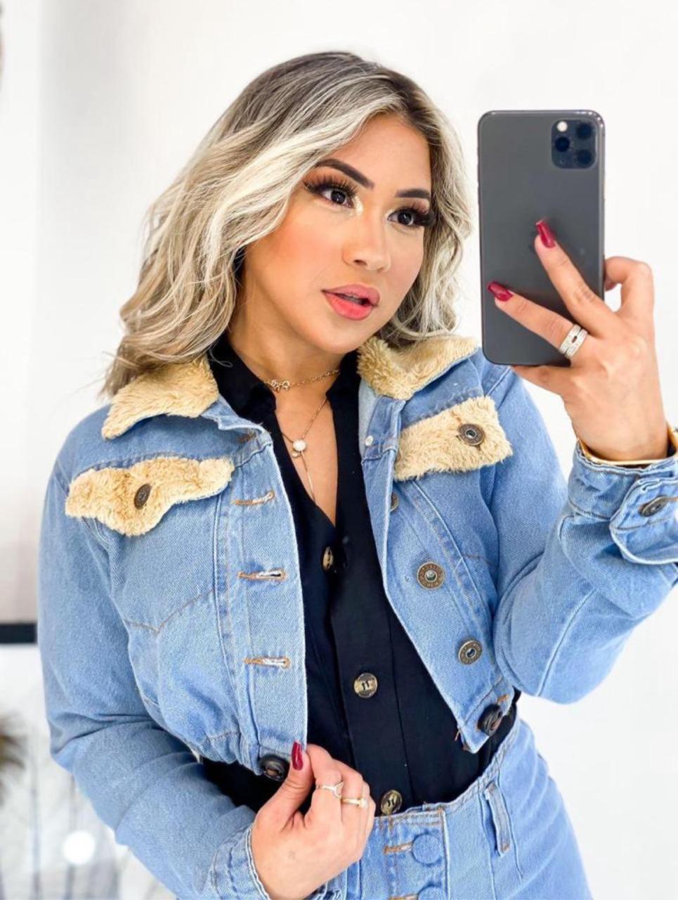 jaqueta jeans 5003