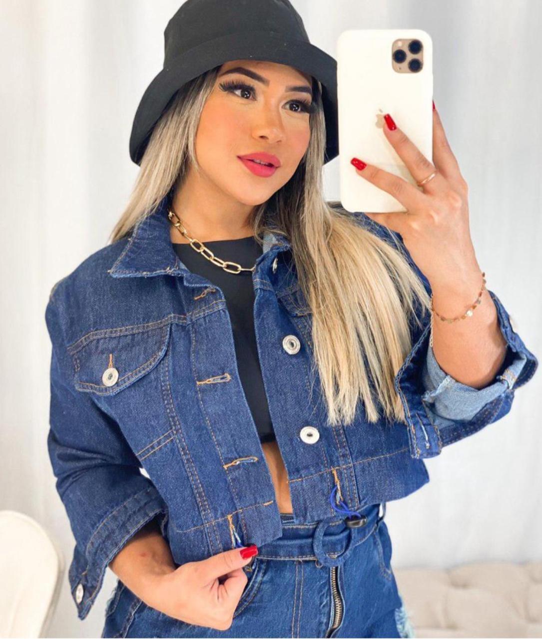 jaqueta jeans 5009