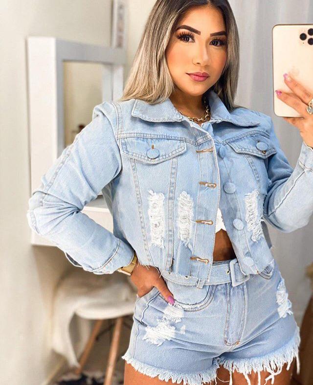 Jaqueta jeans 5016