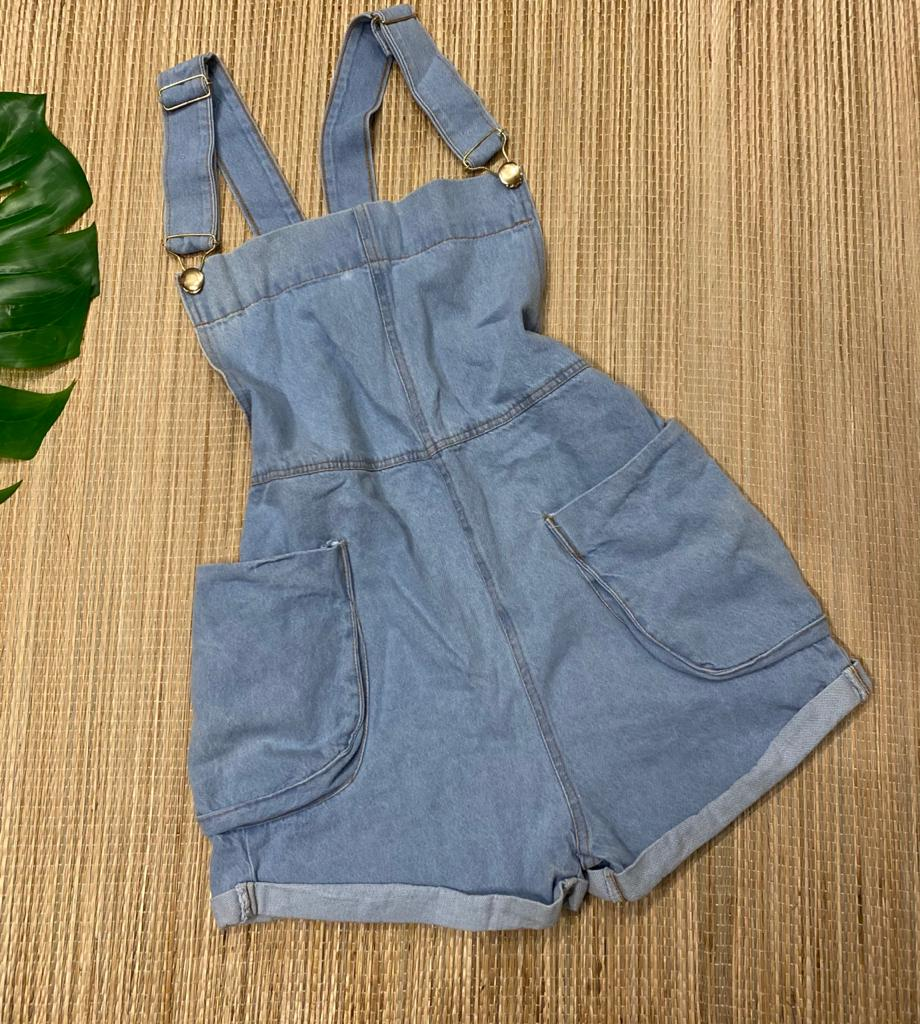 Jardineira jeans 4016