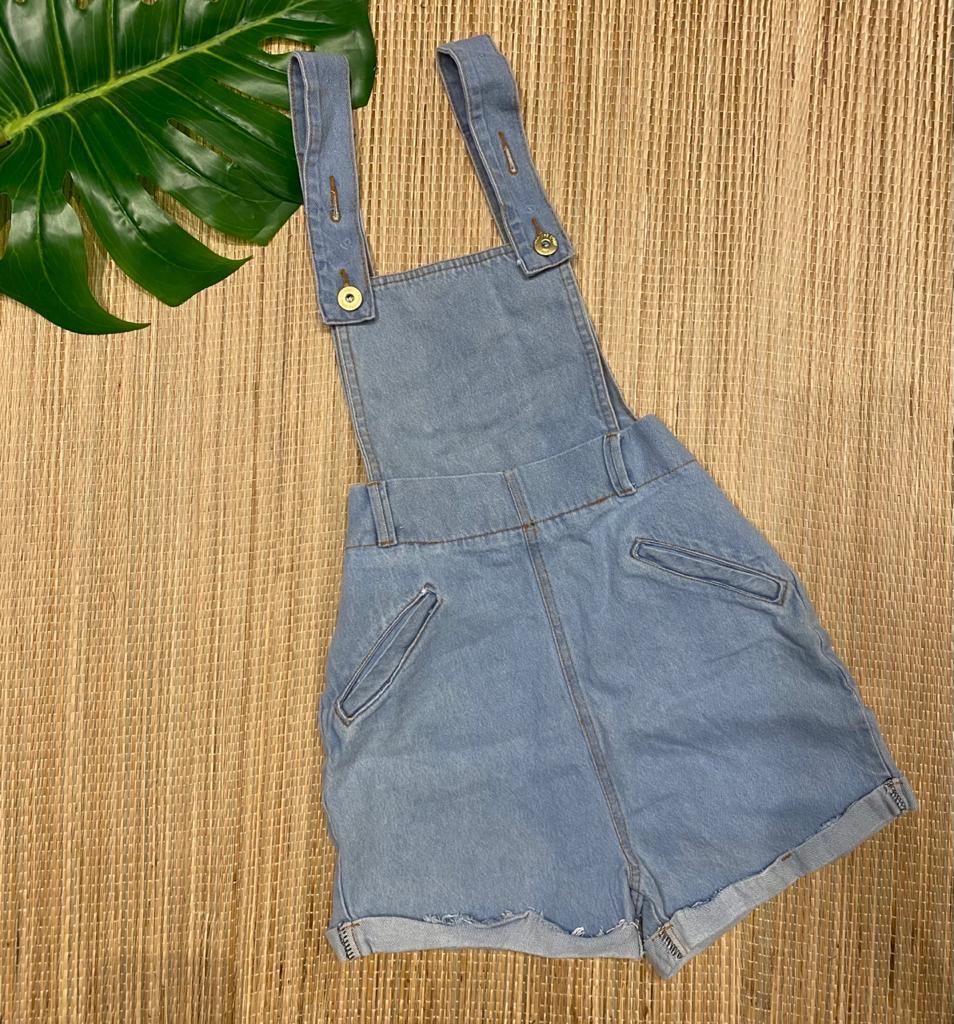 Jardineira jeans 4018