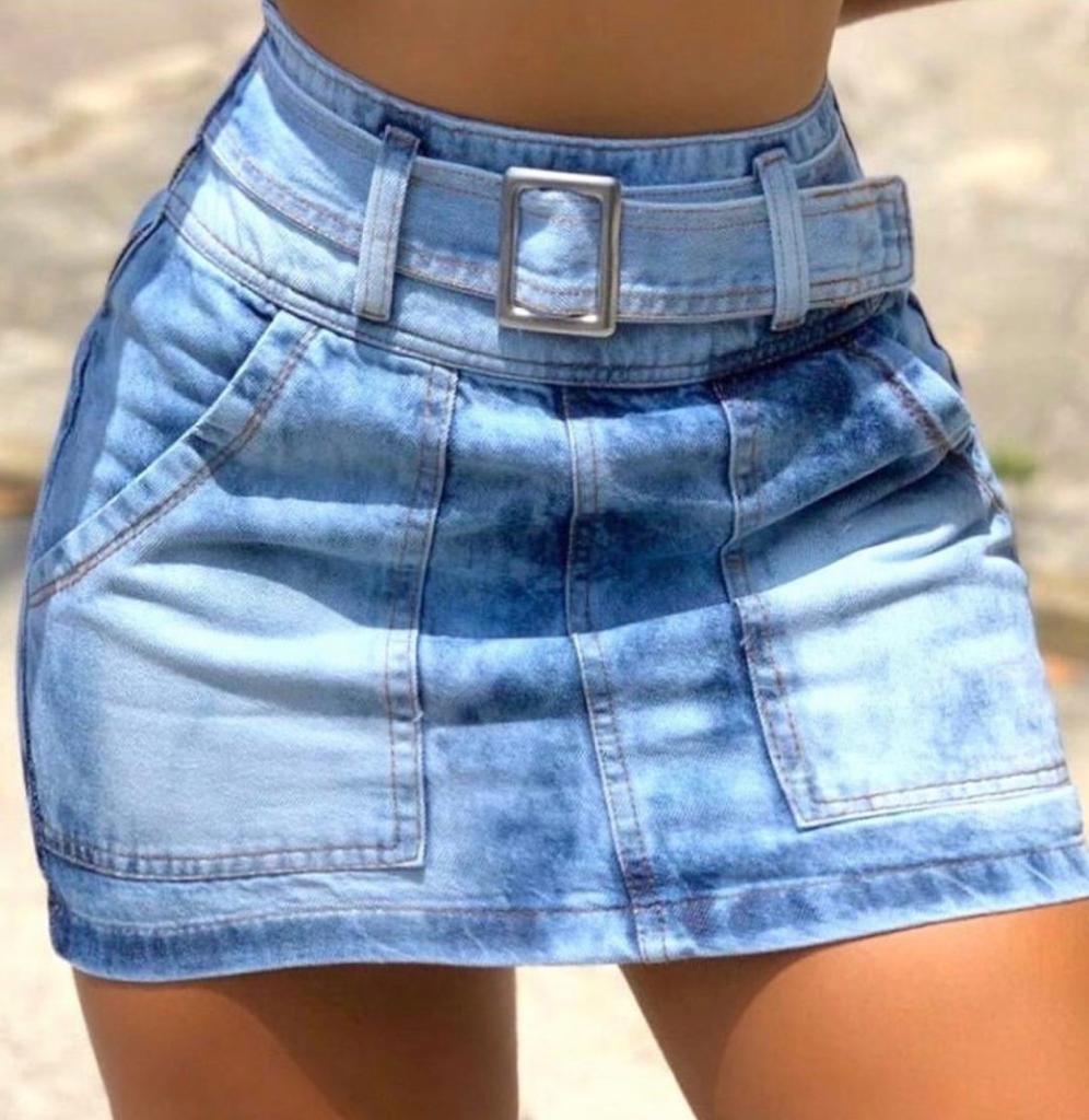 Saia jeans 3001