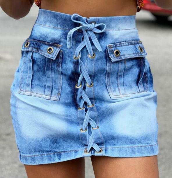Saia jeans 3003