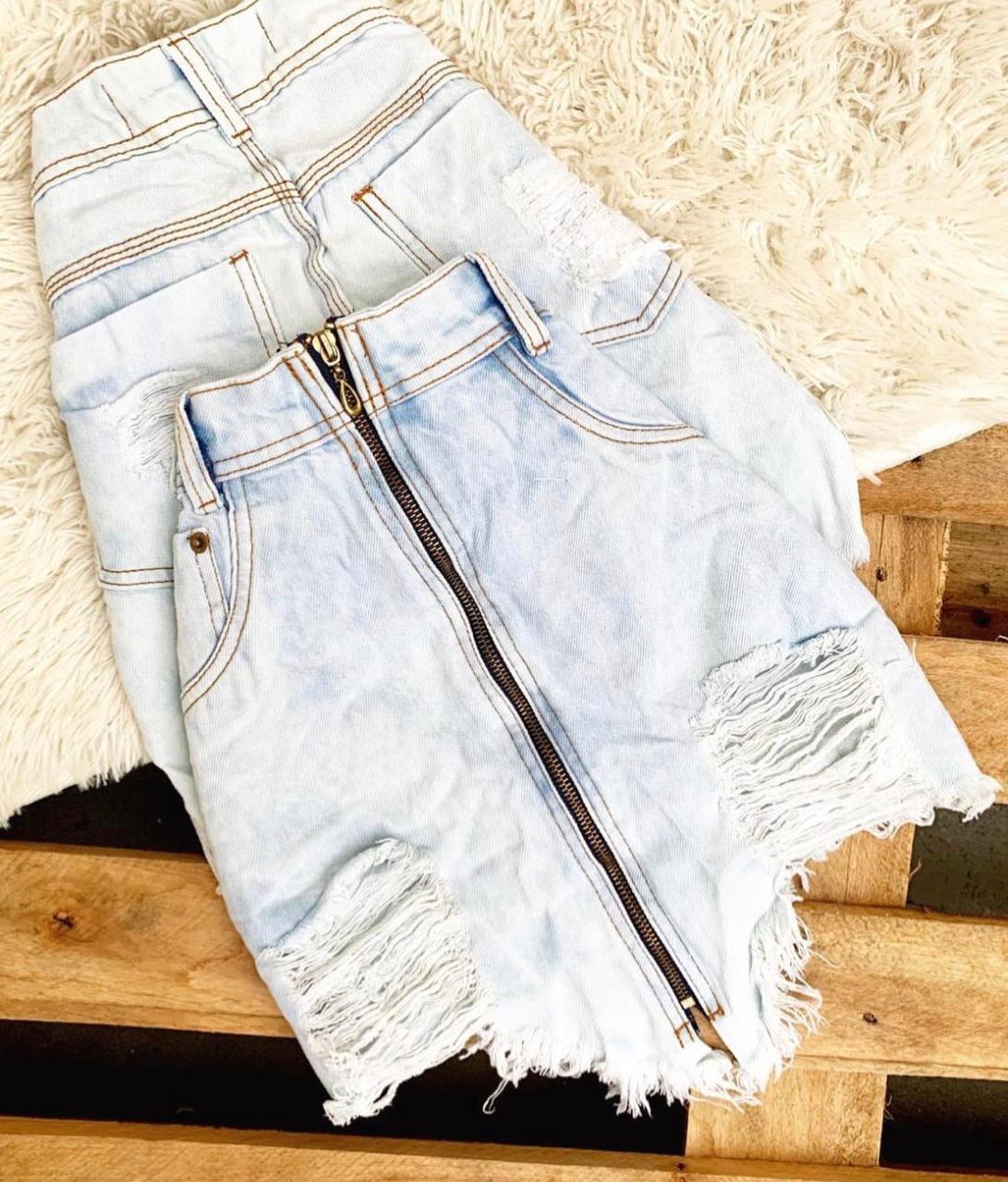 Saia jeans 3006
