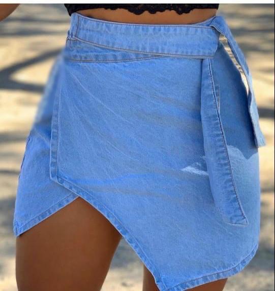 Saia jeans 3015