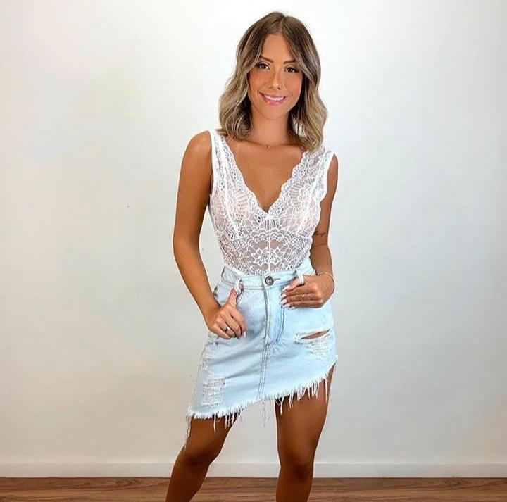 Saia jeans 3016