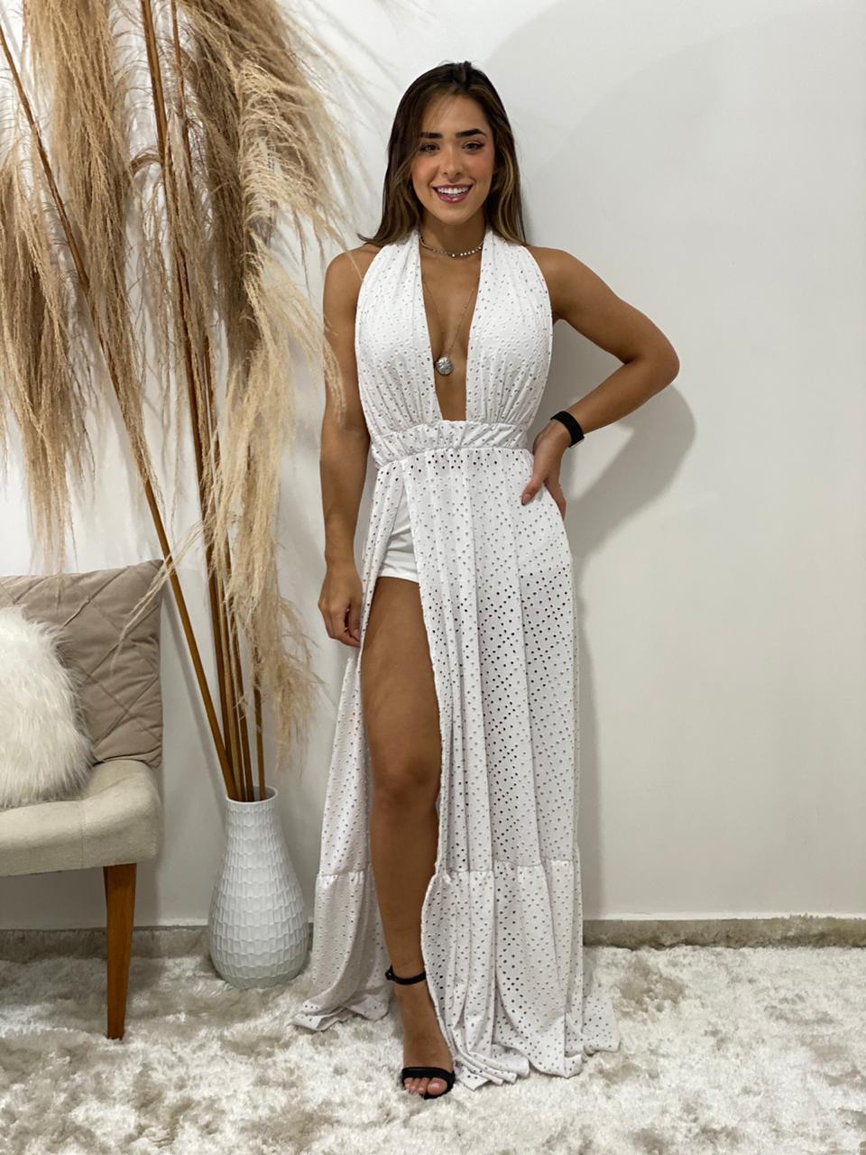 Vestido arrastão Ibiza