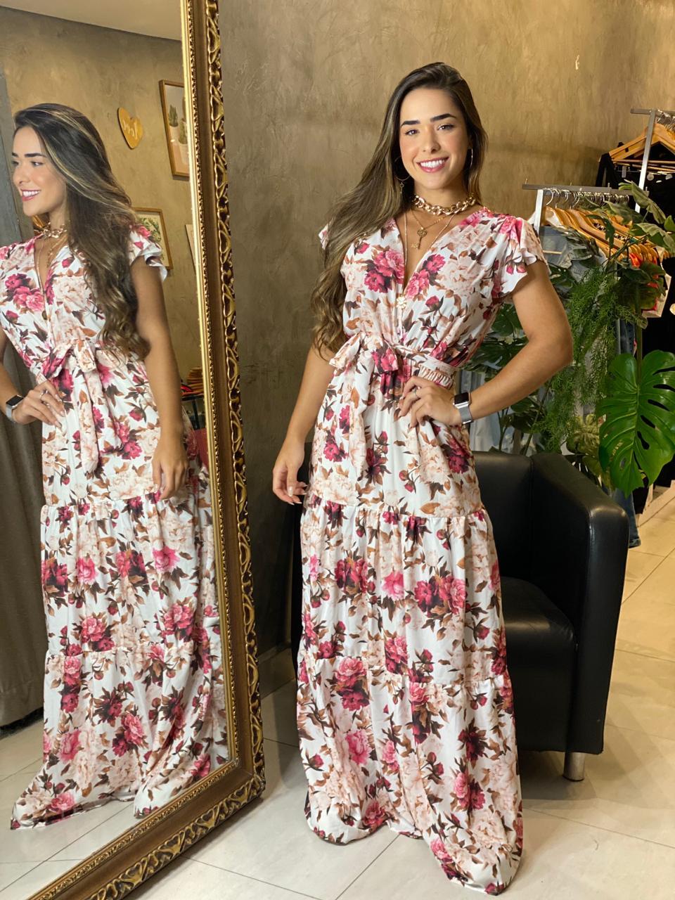 Vestido floral Luara