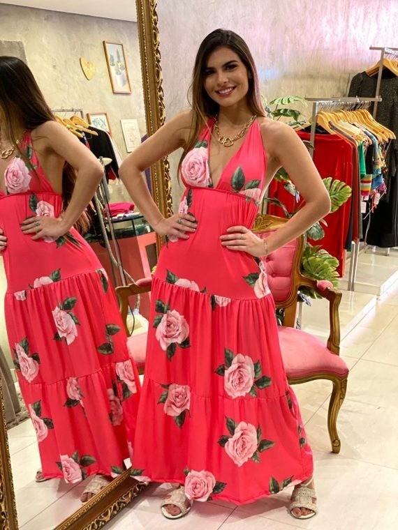 Vestido floral Tainah