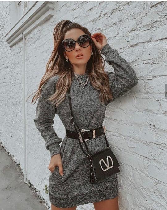 Vestido lãzinha