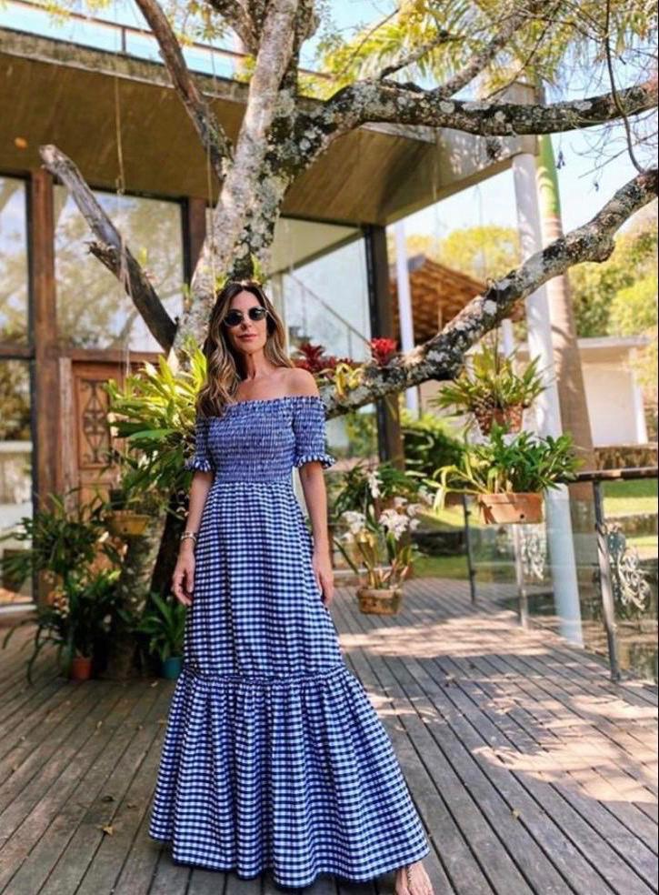 Vestido longo Mariana