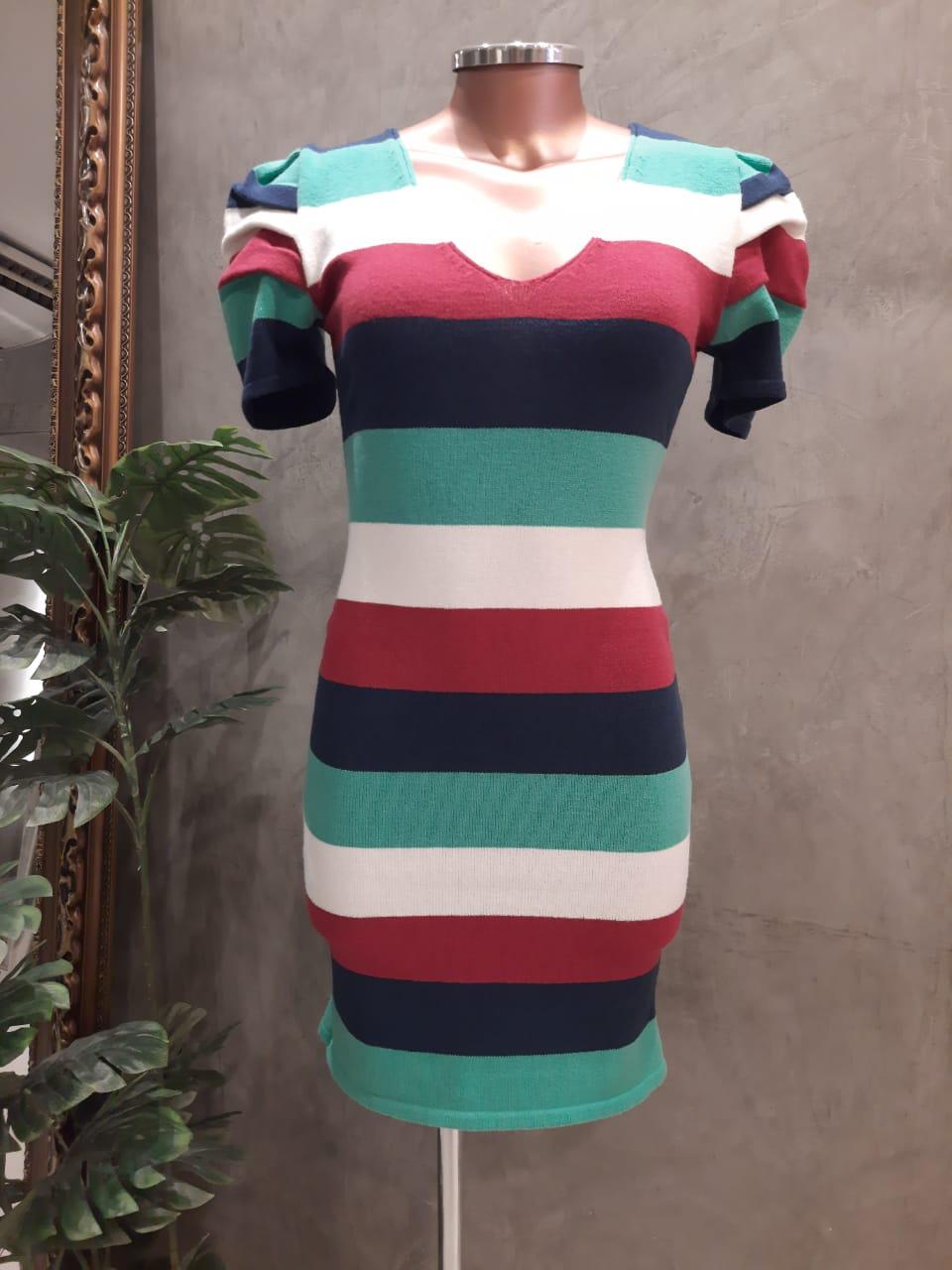 Vestido tricot modal Valentina